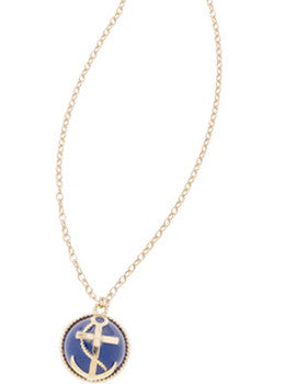 Anchor Bauble Necklace