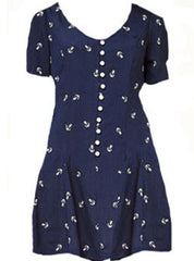 Anchor Print Dress