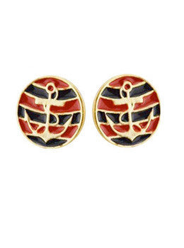 Striped Anchor Studs