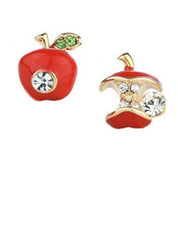 Apple Core Studs