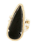 Stone Arrowhead Ring