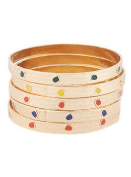 Arty Bangle Set