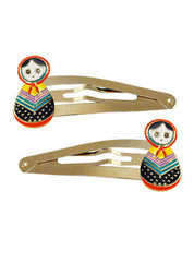 Babushka Doll Clip Set