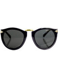 Gold Trim Arrow Sunglasses