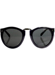 Matte Black Arrow Sunglasses