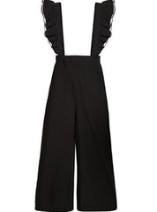 Wide Leg Ruffle Jumpsuit