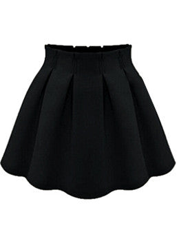 Black Tulip Skirt