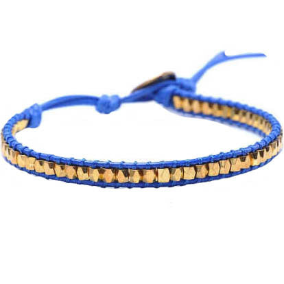 Golden Nugget Wrap Bracelet