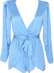 Plunging Neck Romper