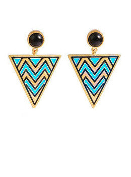 Boho Triangle Earrings