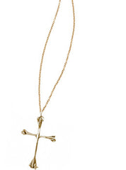 Bones Cross Necklace