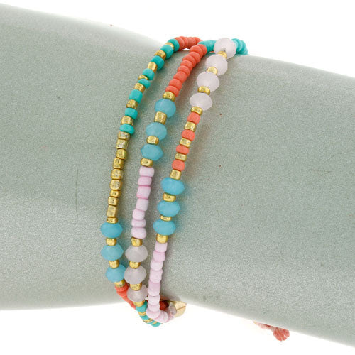 Beaded Thread Bracelet