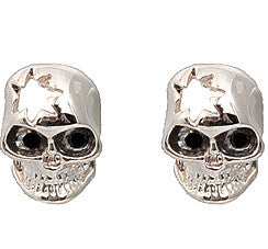Cut Out Skull Studs