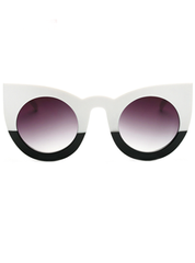 Tonal Cat Eye Sunglasses