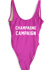 Champagne Campaign Swimsuit