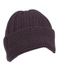 Chocolate Knit Beanie