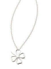 Clover Outline Necklace