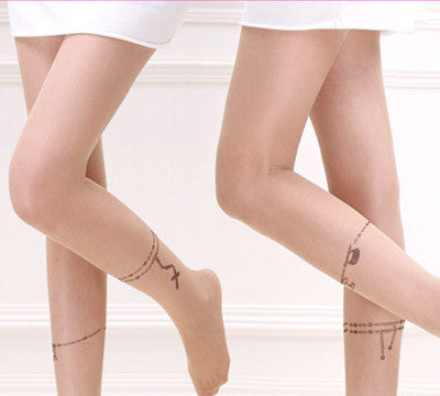 Rosary Tattoo Tights