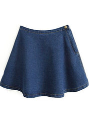 Mod Denim Skirt