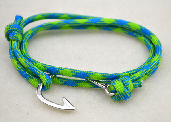 Tiki Rope Hook Wrap Bracelet
