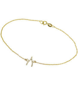 Mini Wishbone Bracelet