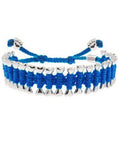 Colorful Thread Dog Bone Bracelet