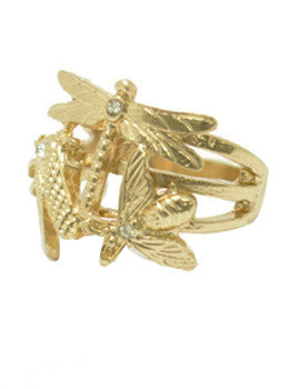 Dragonfly Critter Ring