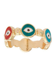 Evil Eye Band Ring
