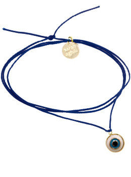 Evil Eye Cord Necklace