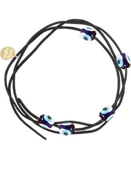 Cotton Evil Eye Cord Wrap