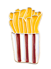 Fries Brooch Pin