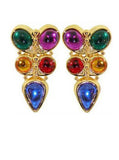 Disco Rock Clip On Earrings