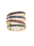 Gemstone Eternity Bands