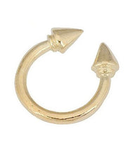 Gold Rivet Ring