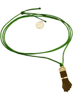 Figa Hand Cord Necklace