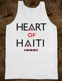 Heart Of Haiti Tank