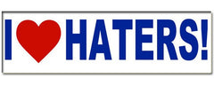 Haters Muti-Use Sticker