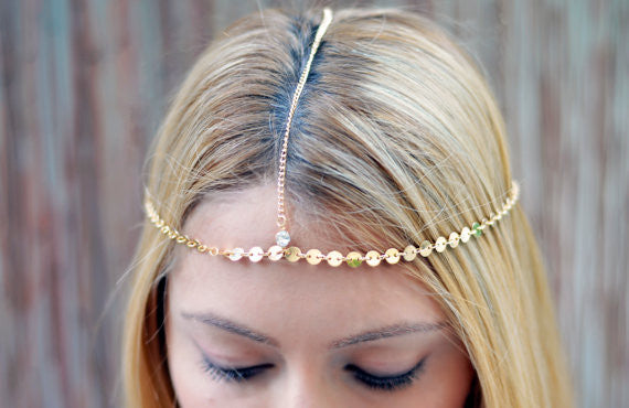 Diamond Bezel Headband