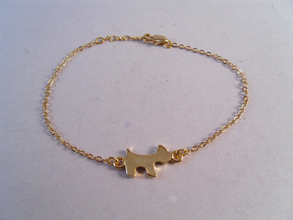 Mini Scottie Bracelet