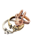 Animals Ring Set