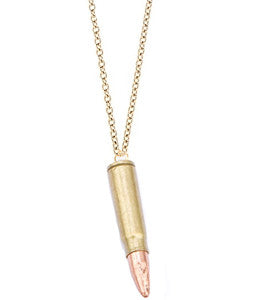 Lucky Bullet Necklace