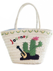 Journey Straw Tote