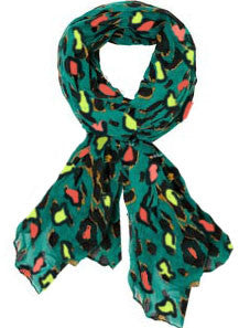 Leopard Pop Scarf