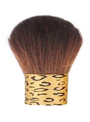 Golden Leopard Kabuki Brush