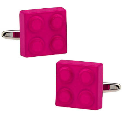 Leggo Blocks Cufflinks
