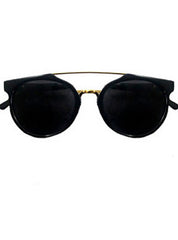 Metal Brow Sunglasses