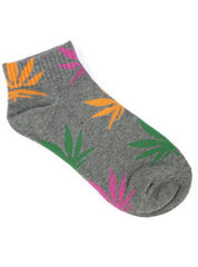 Retro Plantlife Ankle Socks