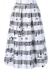 Music Note Skirt