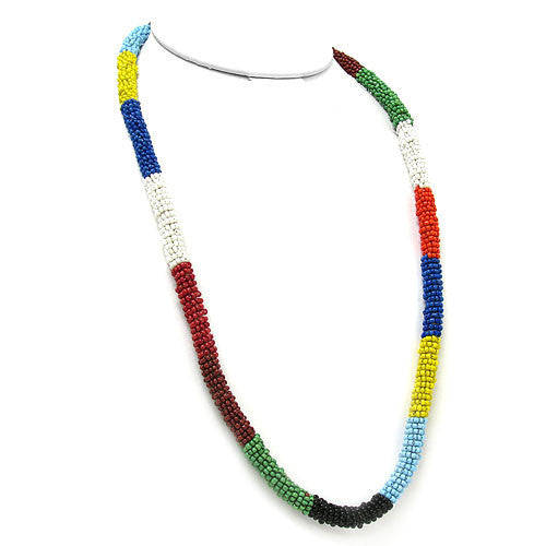 Beaded Navajo Necklace