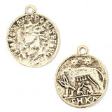 Ancient Roman Coin Charm